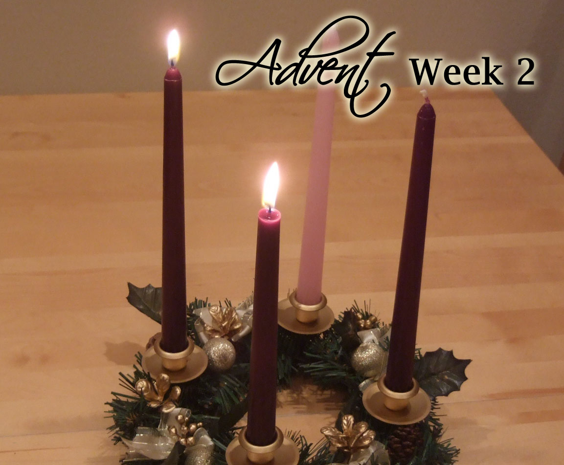 Advent Week 2 Scripture Reading, Music, and Candle Lighting