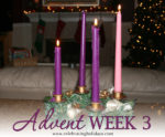 Advent Week 3 Scripture Reading, Music, and Candle Lighting