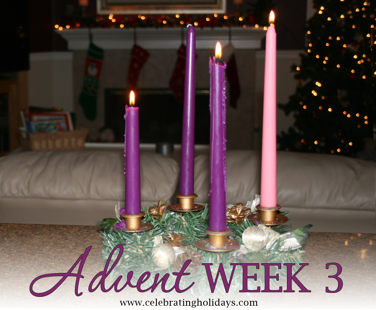 advent week 3 scripture reading music and candle. Black Bedroom Furniture Sets. Home Design Ideas