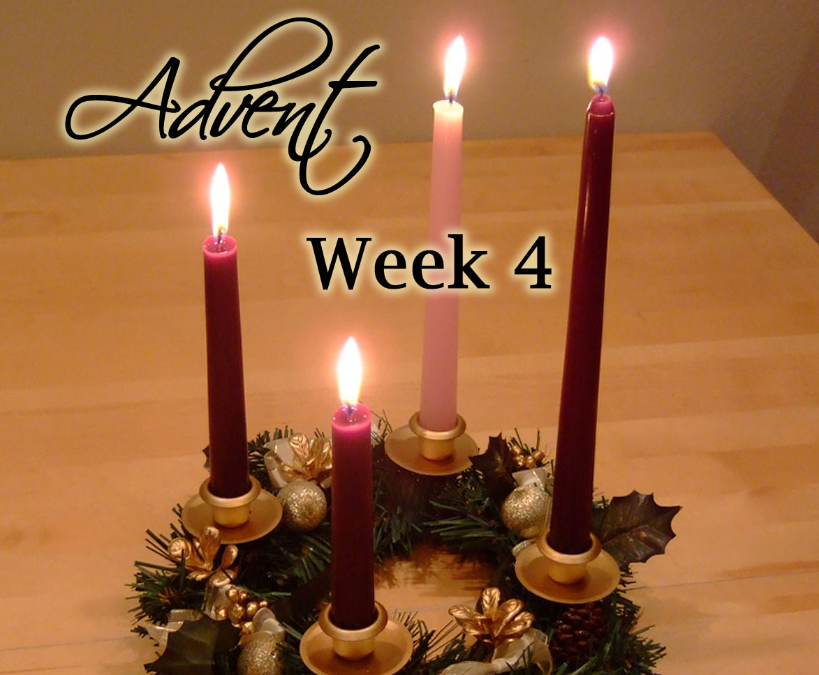 Advent Week 4 Scripture Reading, Music, and Candle Lighting