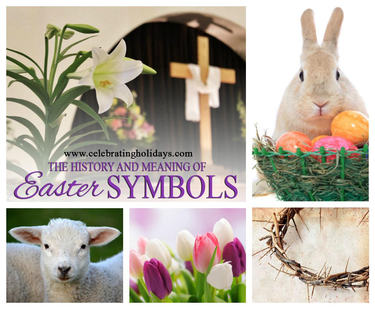 Easter Symbols Celebrating Holidays
