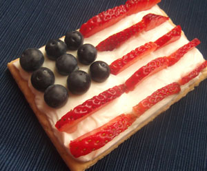 July 4th Poptart Recipe