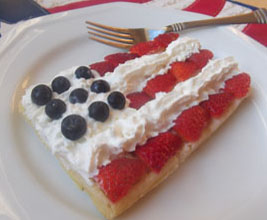 July 4th Waffle Recipe
