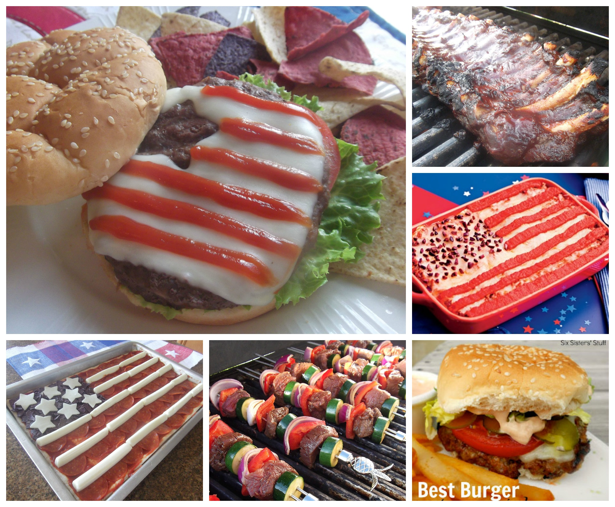 July 4th Main Dish Ideas and Recipes