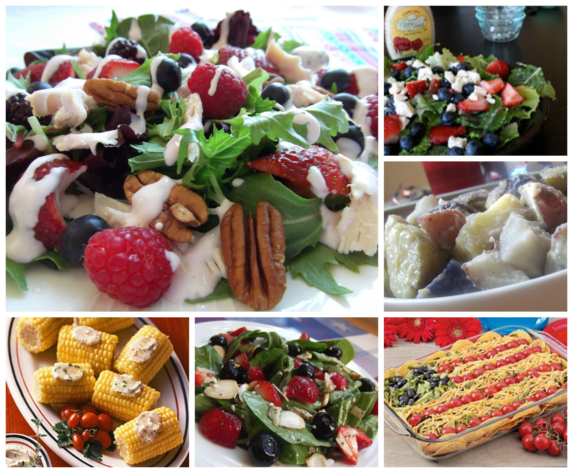 July 4th Salad and Side Dish Ideas and Recipes