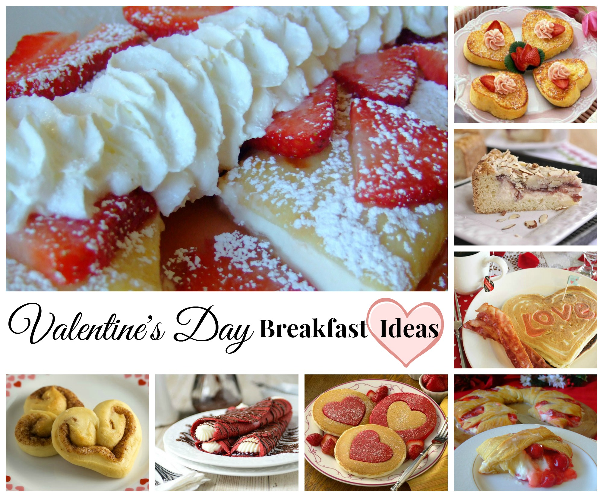 Valentine's Day Breakfast Ideas and Recipes