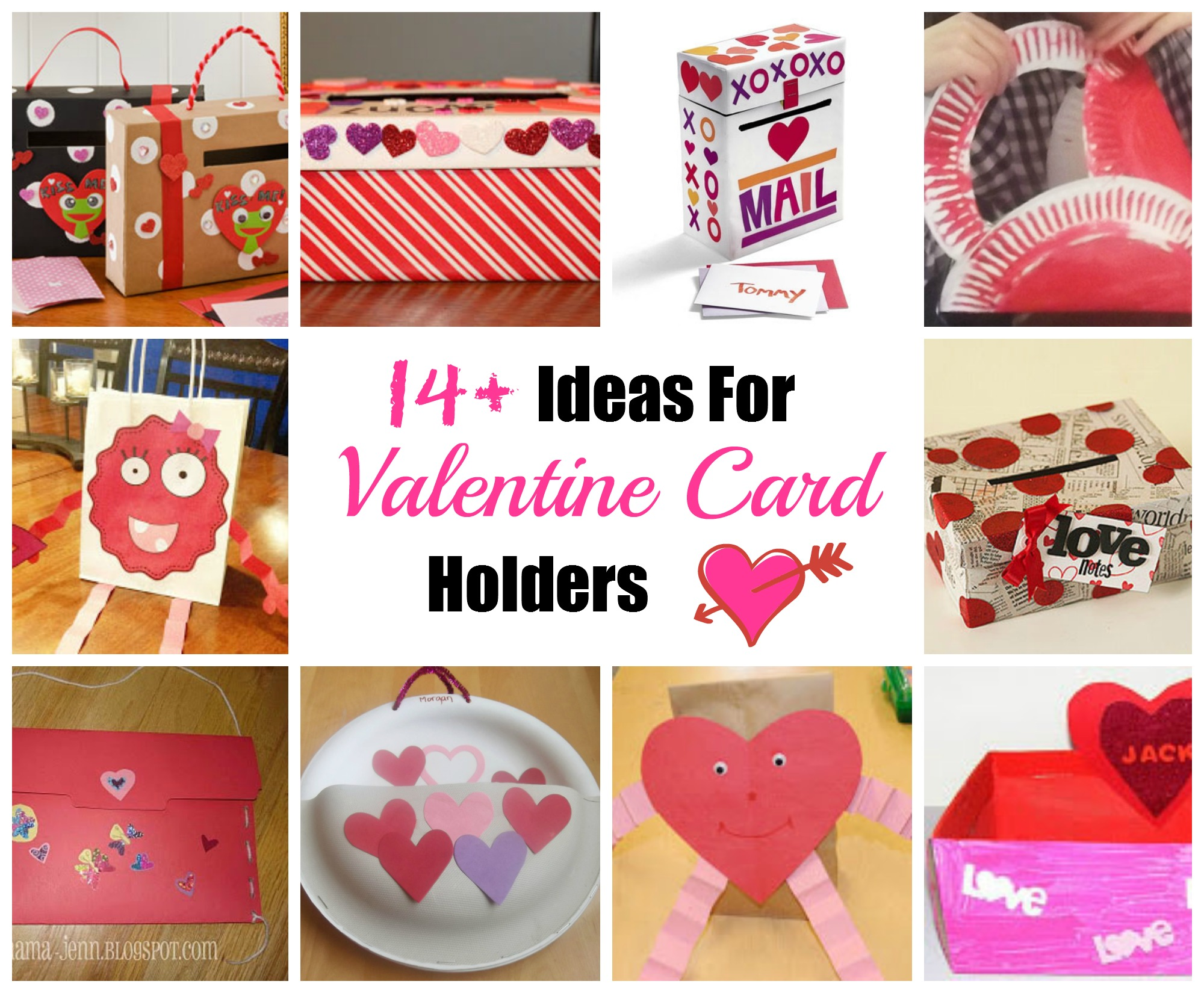Valentines Day Heavy Duty Paper Plate Card Holder – Valentines Card Photos