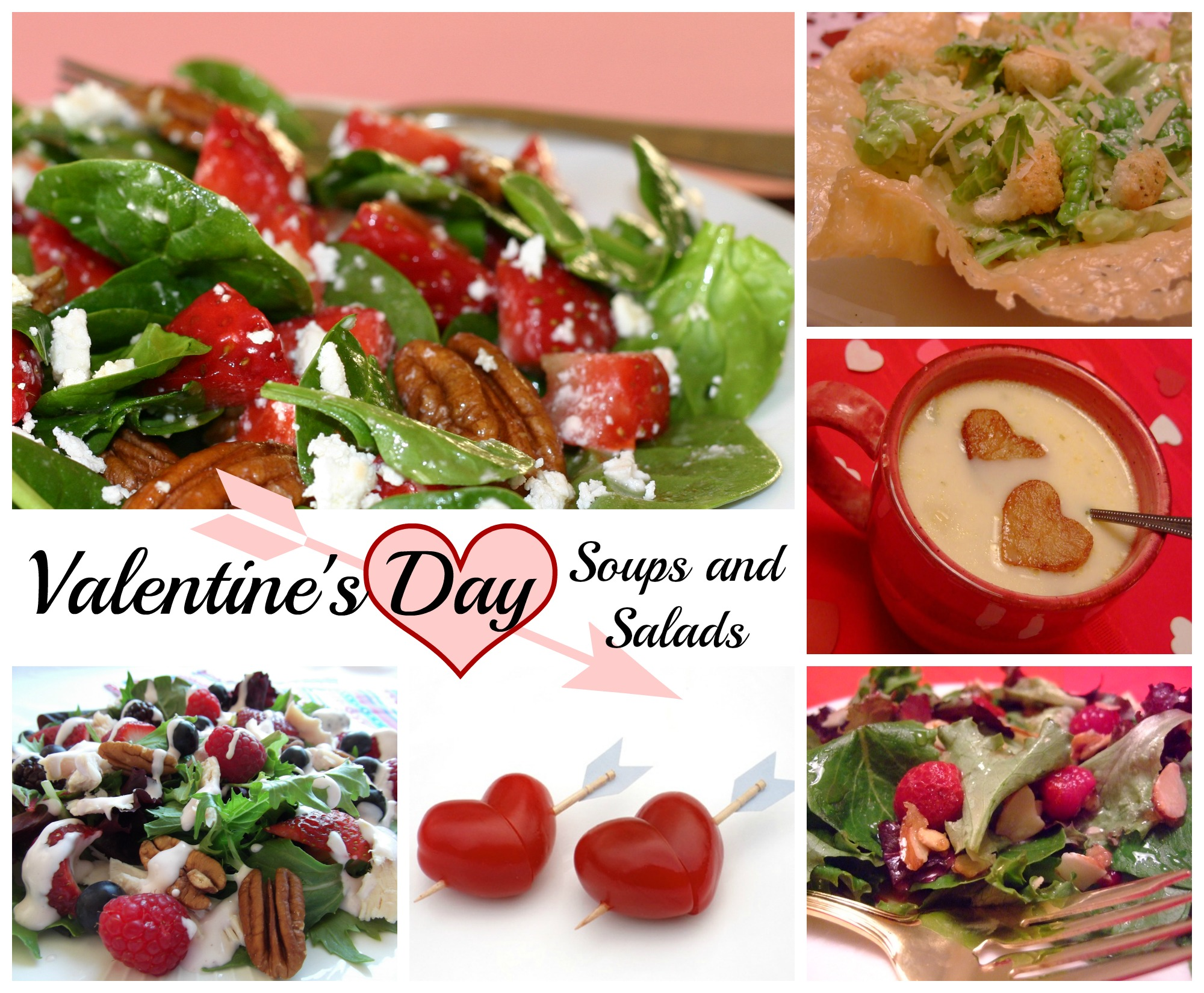 Valentine's Day Soup and Salad Ideas and Recipes