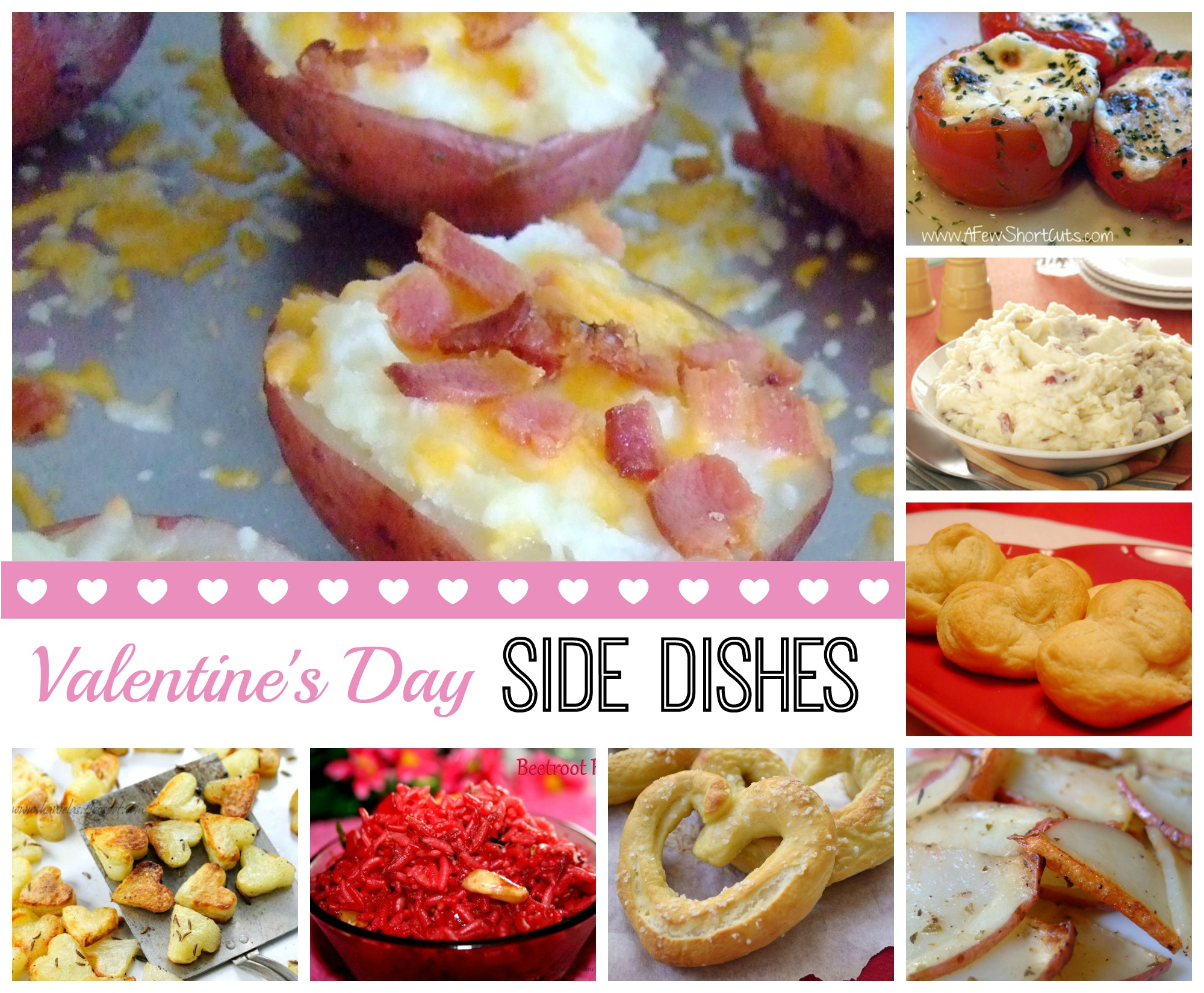 Valentine's Day Side Dish Ideas and Recipes