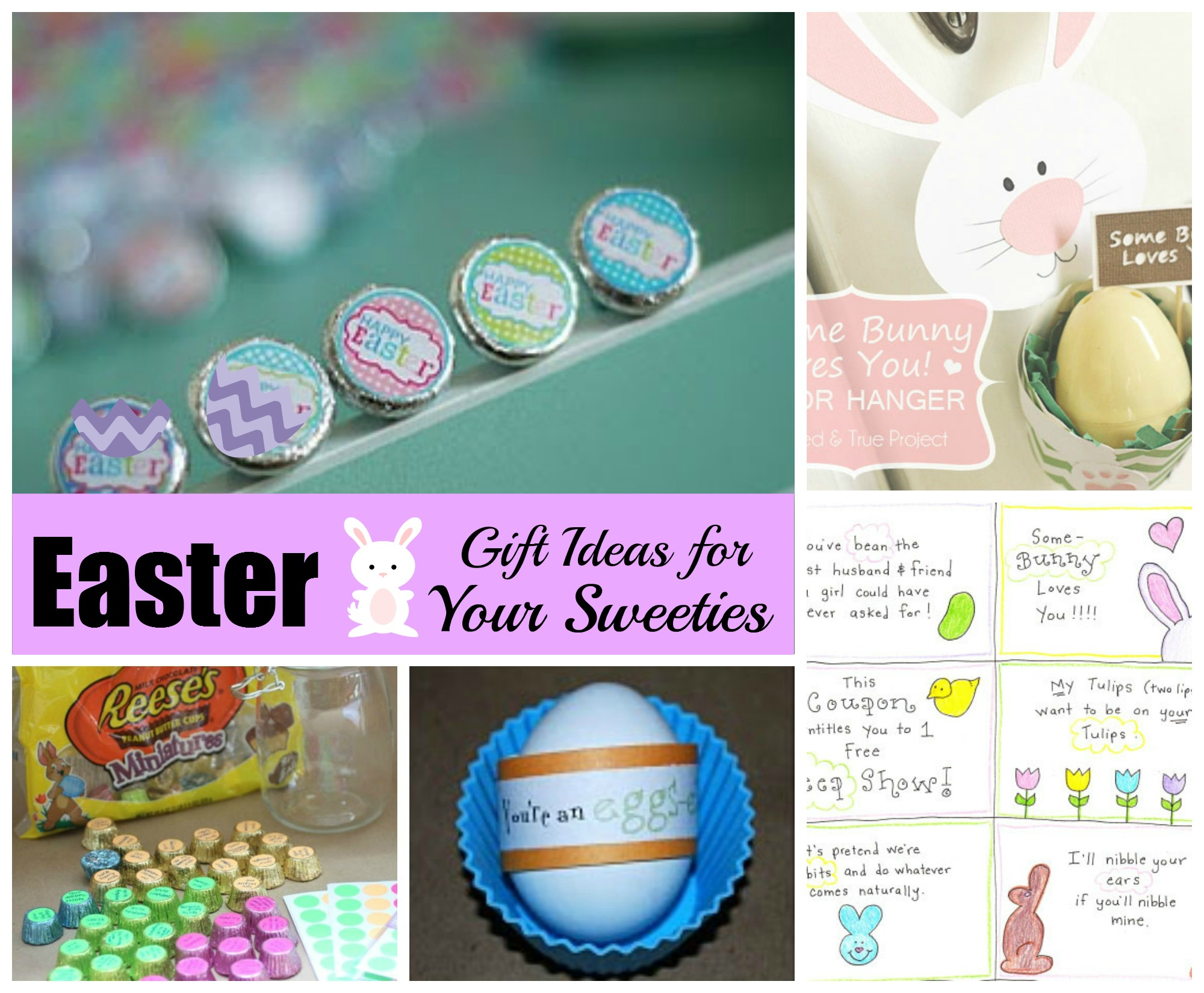 Easter DIY Gifts for Your Sweeties