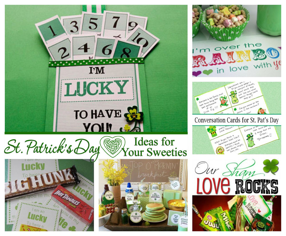 St. Patrick's Day Ideas for Your Sweetie(s)
