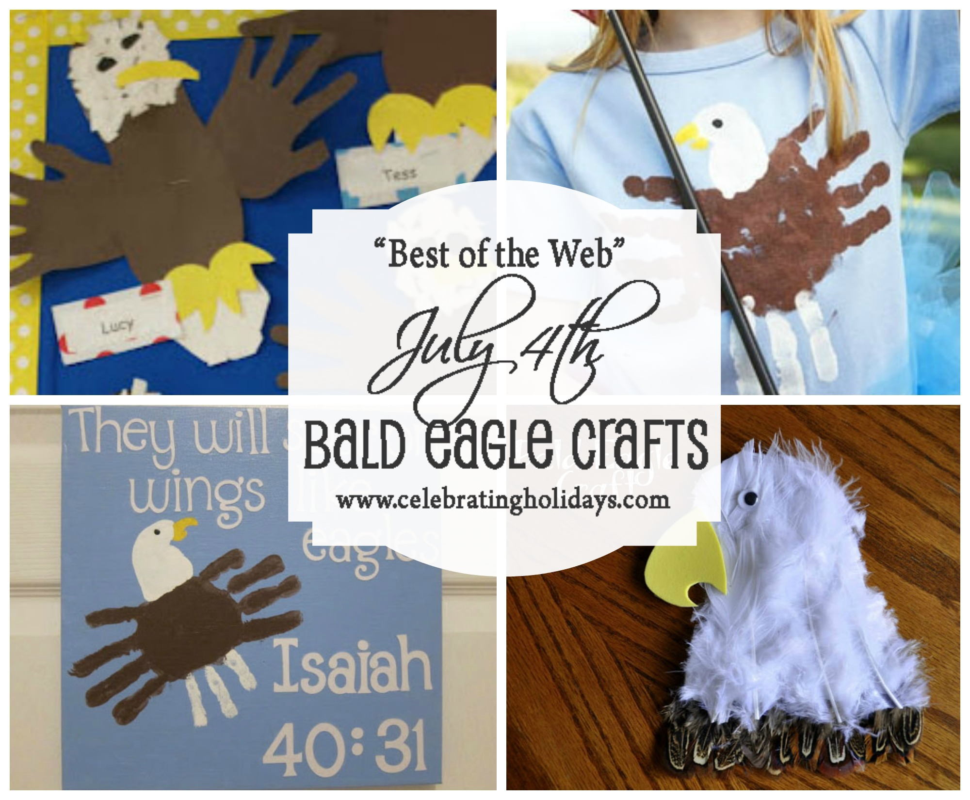 Bald Eagle Crafts for July 4th