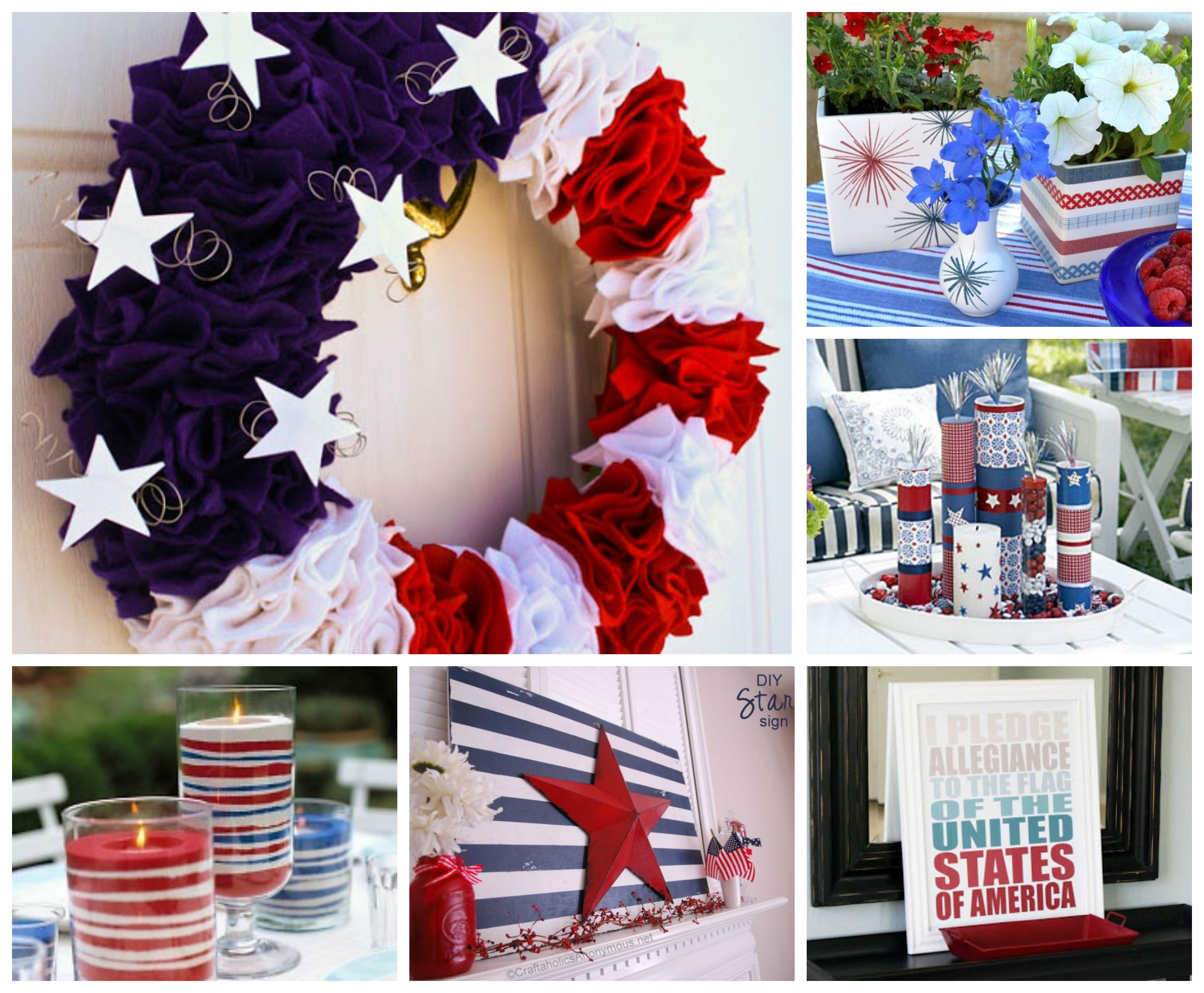 Decorating for July 4th