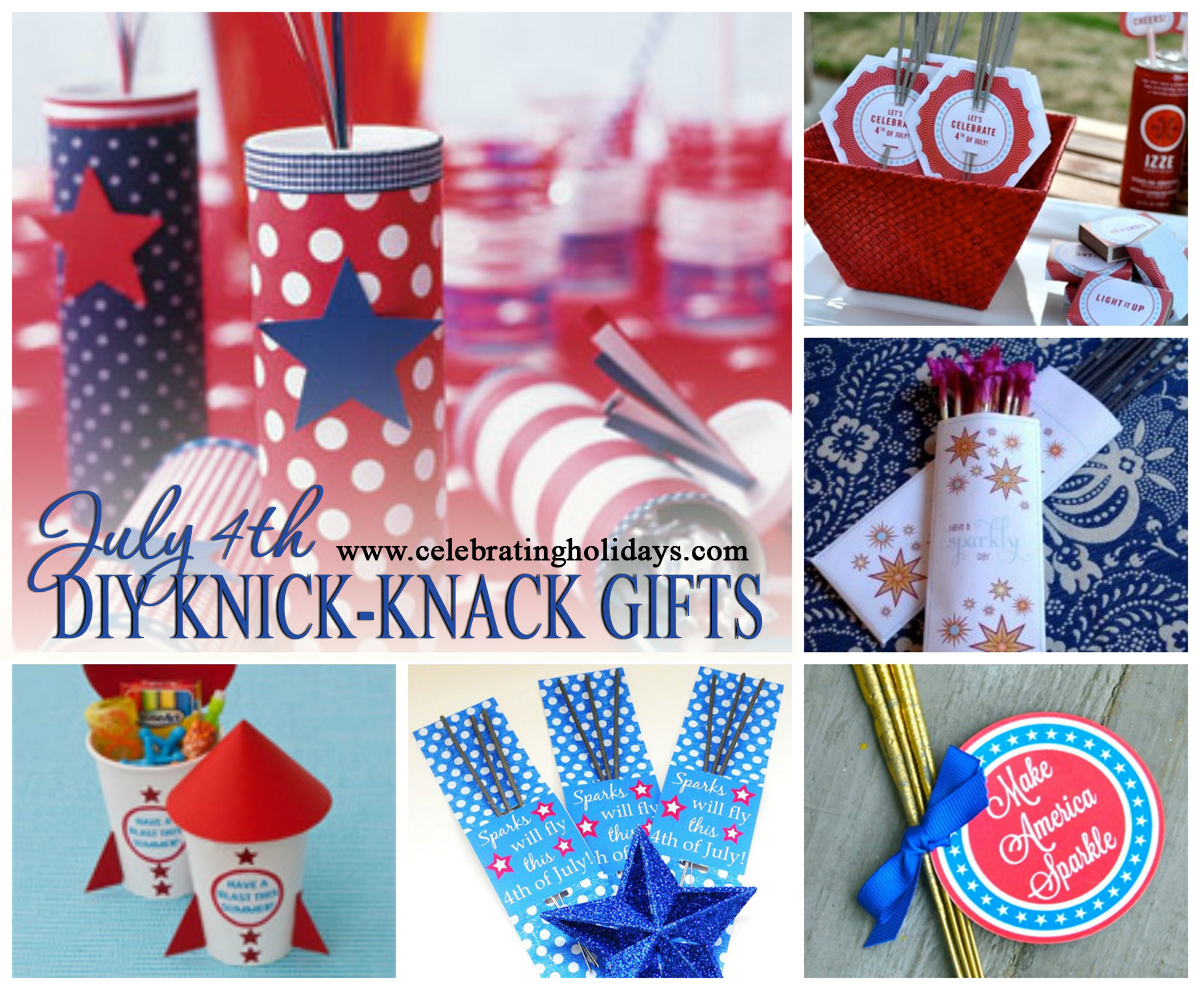 July 4th Independence Day Fun Knick Knack Gift Ideas