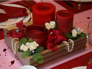 Valentine's Day DIY Box Frame Centerpiece Craft