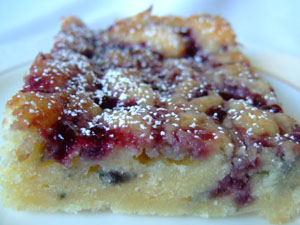 Purple Ribbon Coffee Cake Recipe