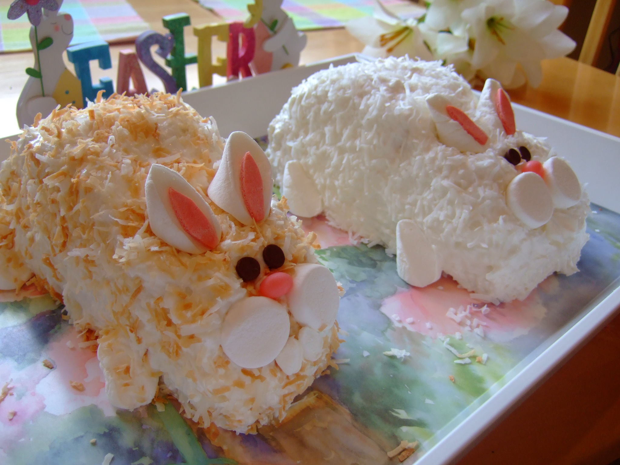 Easter Bunny Cake Recipe Celebrating Holidays