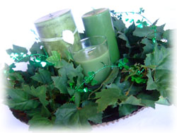 Candle Centerpiece Craft for St. Patrick's Day