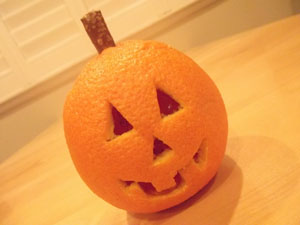 Orange-o'-Lantern Recipe