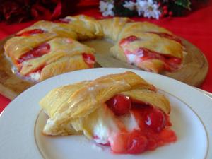 Cherry Cheese Danish Recipe