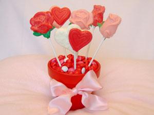 Lollipop Flower Pot Valentine S Day Gift Celebrating Holidays