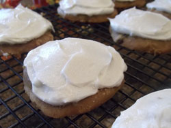 Frosted Pumpkin Cookies Recipe