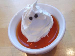 Ghost Topped Jello Recipe