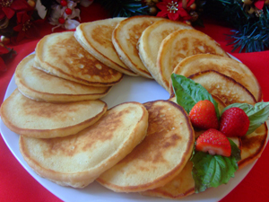 Christmas Pancakes Recipe