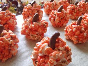 Popcorn Pumpkins Recipe
