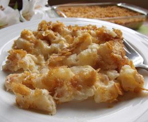 Potato Cornflake Casserole Recipe