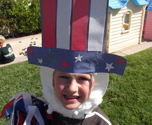 Uncle Sam Hat Craft