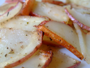 Sliced Red Potatoes Recipe