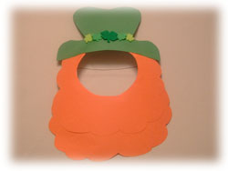 St. Patrick's Day Mask Craft