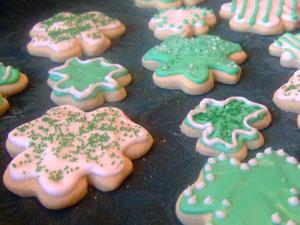 St. Patrick's Sugar Cookies Recipe