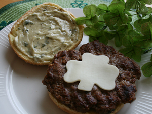 Turkey Pesto Burger Recipe