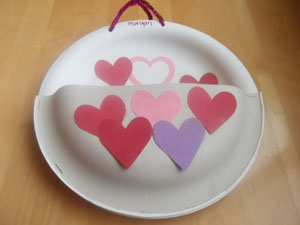 Card Holder (Heavy Duty Paper Plate)