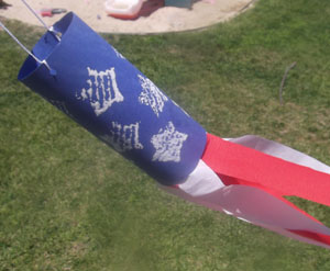 Patriotic Windsock Craft