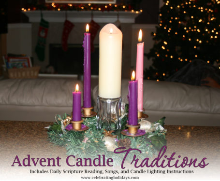 & Advent Wreath and Candle Lighting   Celebrating Holidays azcodes.com