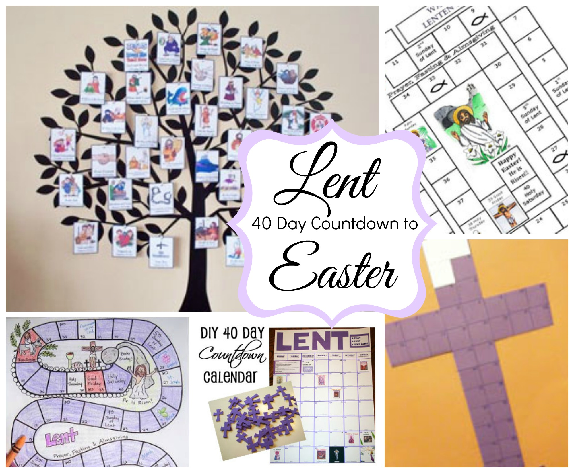 40 day countdown to easter ideas celebrating holidays biocorpaavc