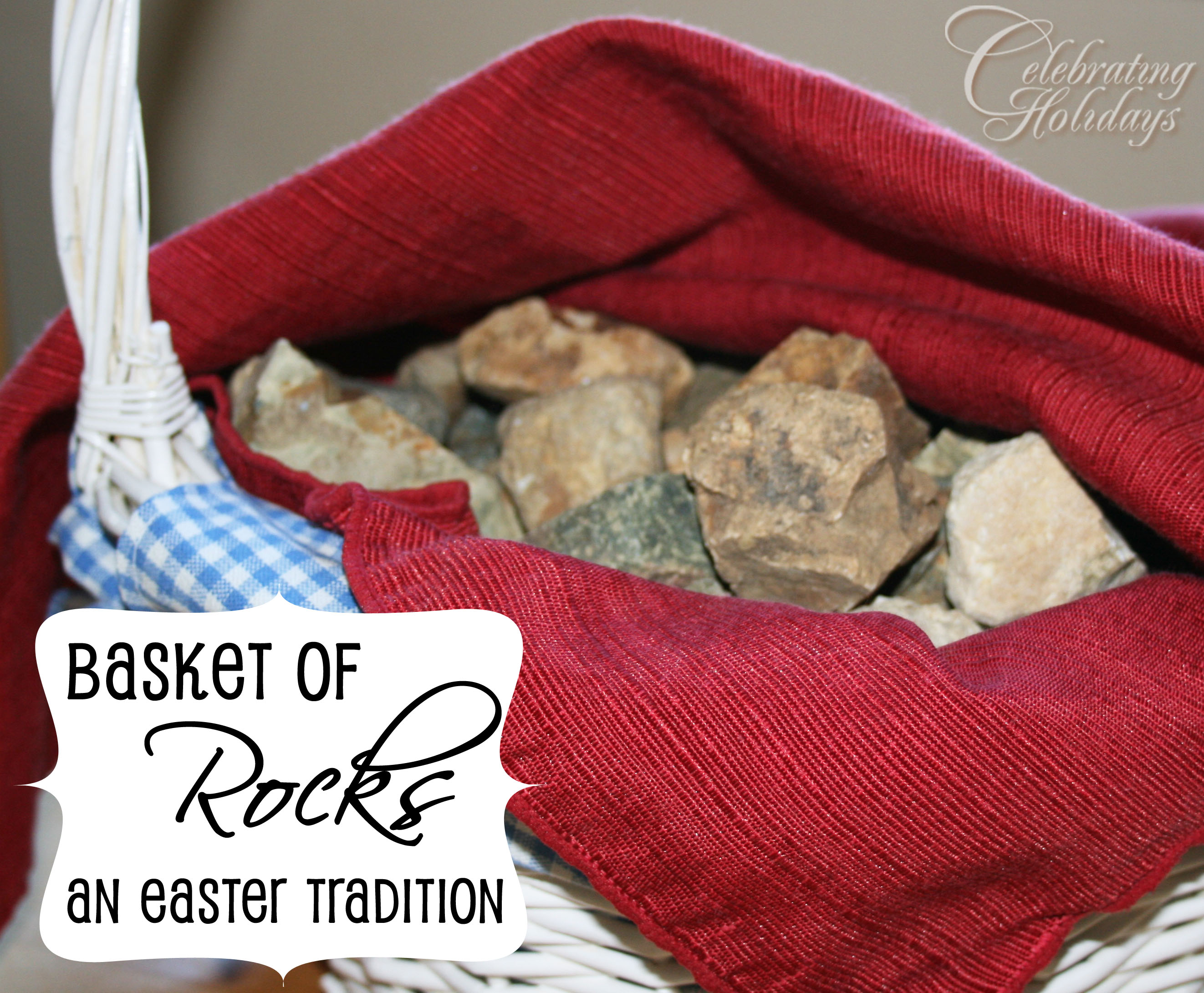 Basket of Rocks