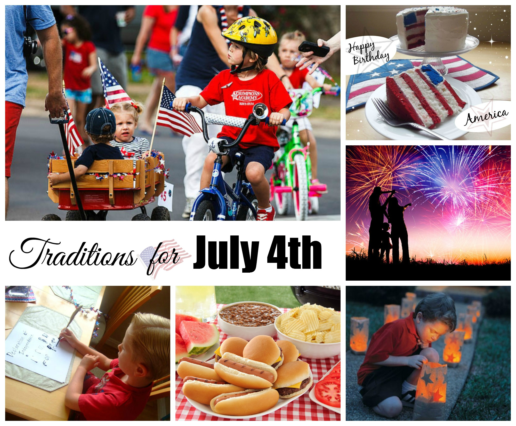 July 4th Traditions Celebrating Holidays