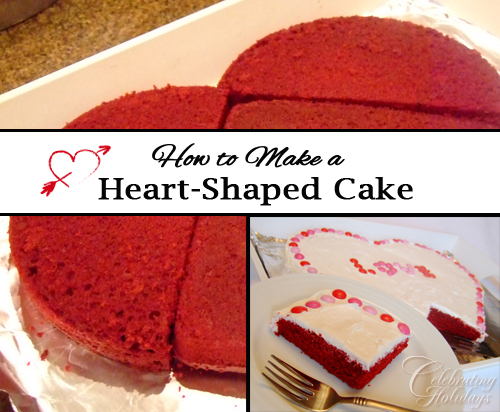 How to Make a Heart-Shaped Cake