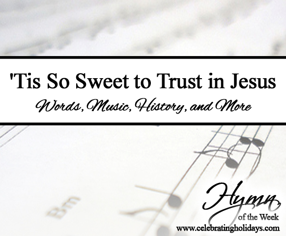 'tis So Sweet To Trust In Jesus ': Gethsemane Hymn Sheet Music For Primary At Alzheimers-prions.com