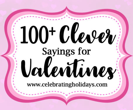 Valentine Clever Sayings For Candy And Treat Celebrating