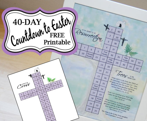 40-Day Cross Countdown