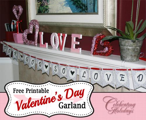 Valentine's Day Banner (Garland)