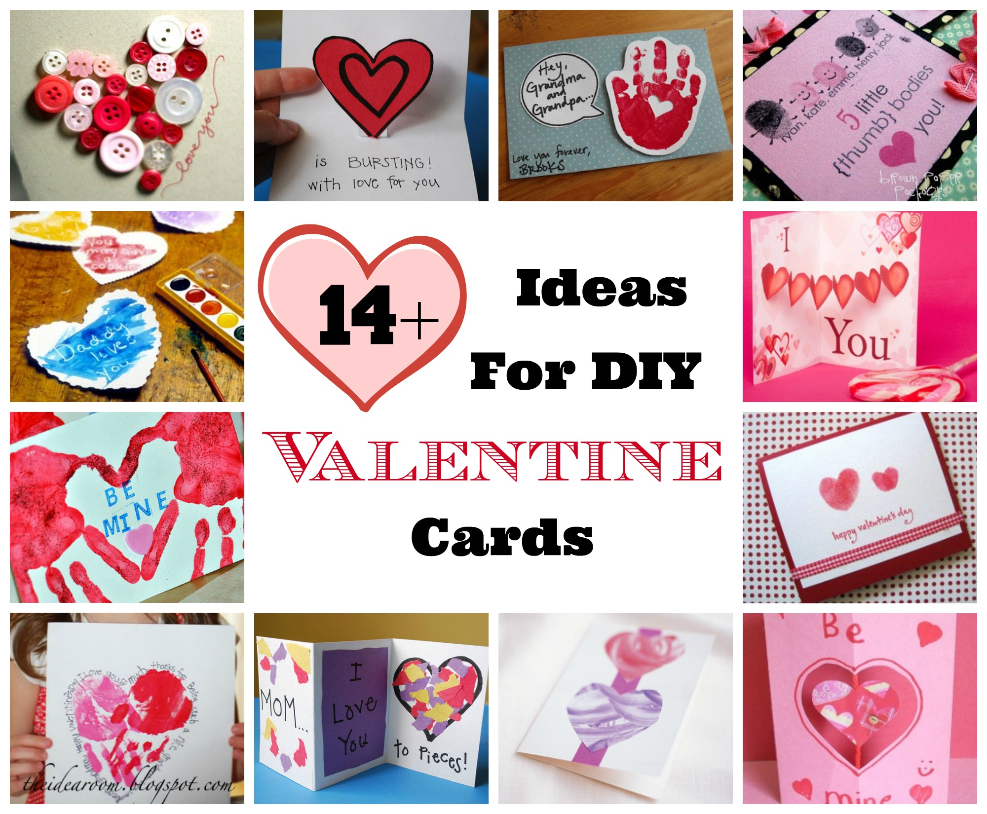 Valentines Day DIY Homemade Card Ideas – Homemade Valentine Cards Ideas