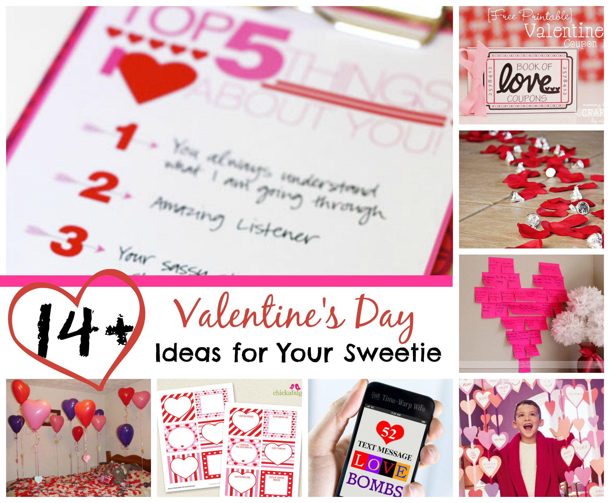 Valentine's Day Ideas for Your Sweeties