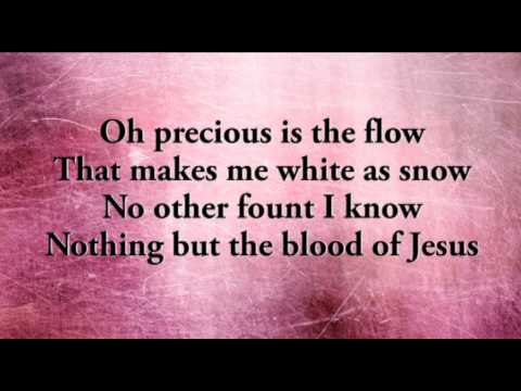 Nothing but the Blood of Jesus (Hymn) | Celebrating Holidays