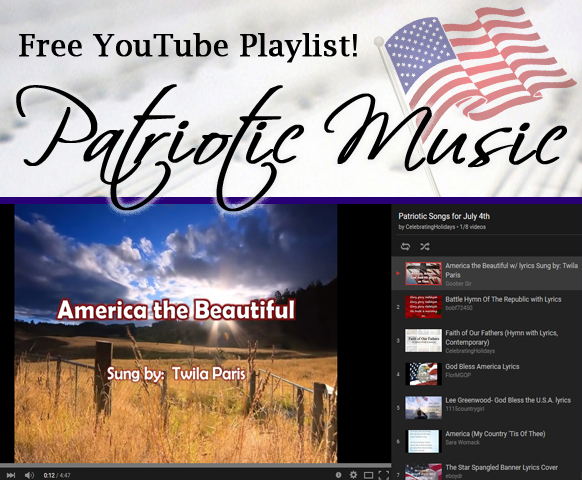 July 4th Patriotic Song Playlist